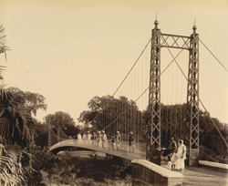 Suspension Bridge (in the Public Park) [Vadodara]